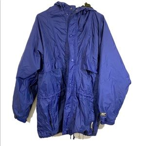 Helly Hansen Packable Raincoat Jacket sz Large